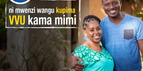 Furaha Yangu ni Mwenzi Wangu kupima VVU kama mimi.