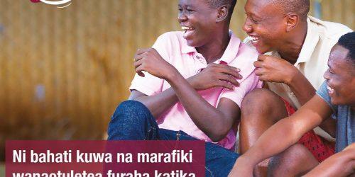 Furaha yangu- Ni bahati kuwa na marafiki wanaotuletea Furaha katika maisha Yetu.