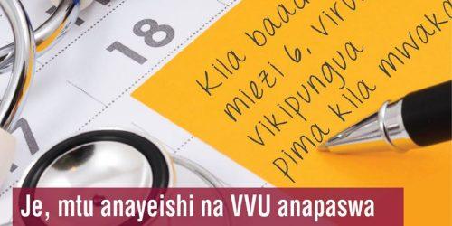 Furaha Yangu- Je,mtu anayeishi na VVU anapaswa kupima kiwango cha virusi mara ngapi kwa mwaka?